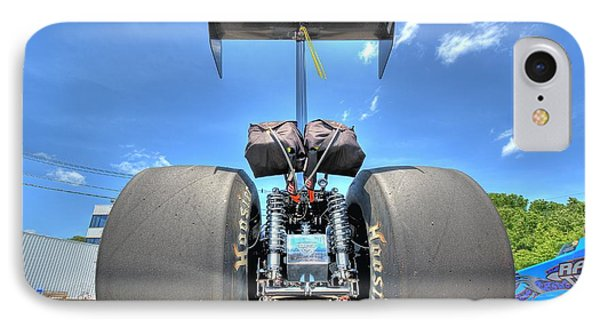 IPhone Case featuring the photograph Vintage Drag Racer by Gianfranco Weiss