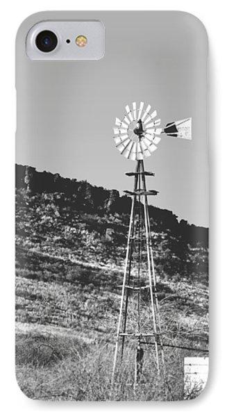 Vintage Farm Windmill IPhone Case