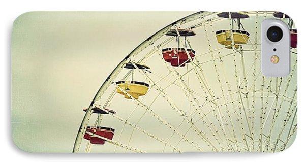 Vintage Ferris Wheel Phone Case by Kim Hojnacki