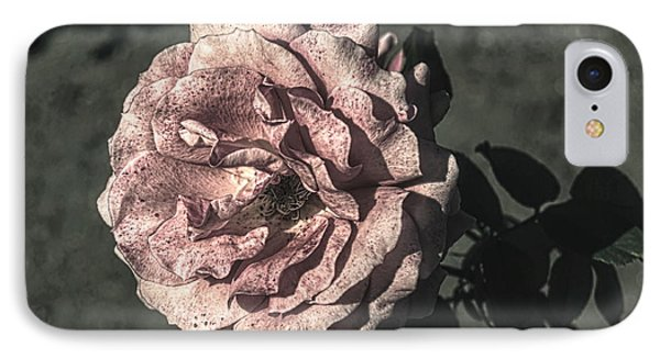 Vintage Flower IPhone Case by John Rossman