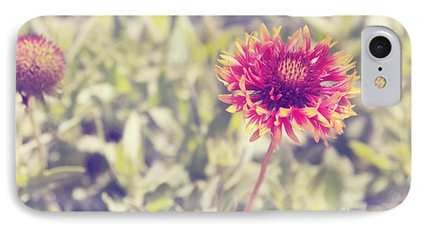 Vintage Flowers IPhone Case by Mohamed Elkhamisy
