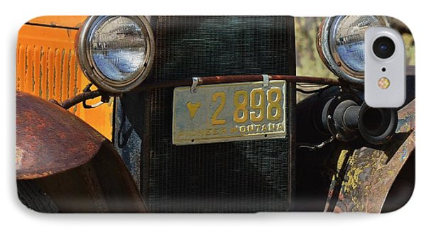 Vintage Ford Truck 1 IPhone Case by Kae Cheatham