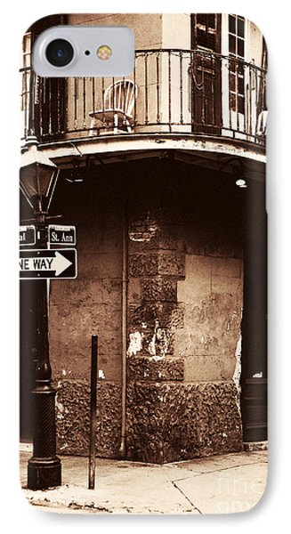 Vintage French Quarter Phone Case by John Rizzuto
