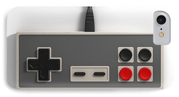 Vintage Gaming IPhone Case by Allan Swart