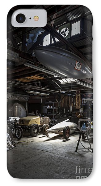 Vintage Garage - Metal And Speed IPhone Case