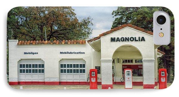 Vintage Gas Station - Little Rock Arkansas IPhone Case
