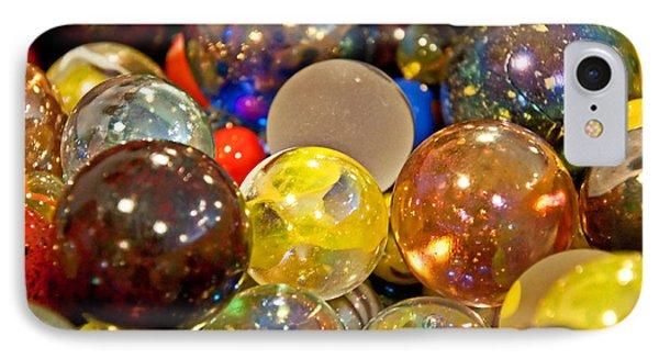 Vintage Glass Marbles IPhone Case by Valerie Garner
