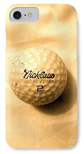 Vintage Golf Ball IPhone Case by Anita Lewis