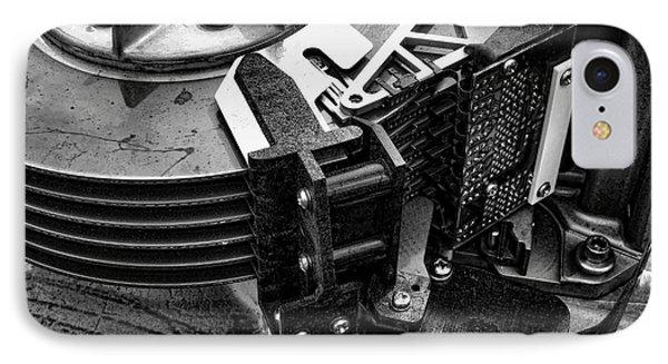 Vintage Hard Drive Phone Case by Olivier Le Queinec