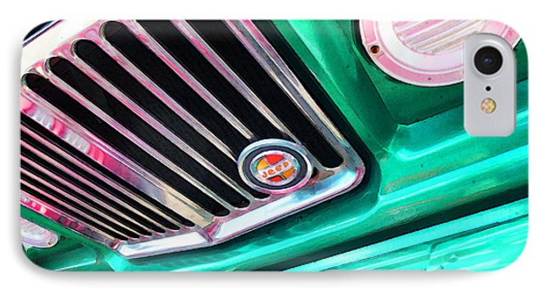 Vintage Jeep - J3000 Gladiator By Sharon Cummings IPhone Case by Sharon Cummings