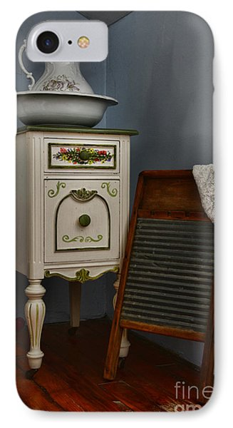 Vintage Laundry And Wash Room IPhone Case by Paul Ward