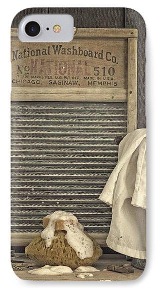 Vintage Laundry Room II By Edward M Fielding Phone Case by Edward Fielding
