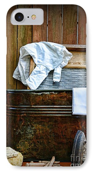 Vintage Laundry Room  IPhone Case by Paul Ward