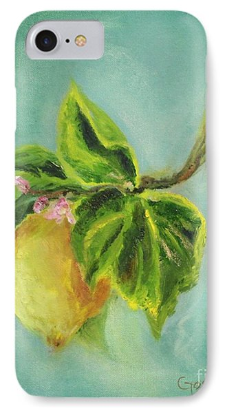 Vintage Lemon II IPhone Case