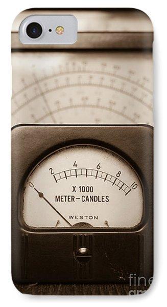 Vintage Light Meter IPhone Case