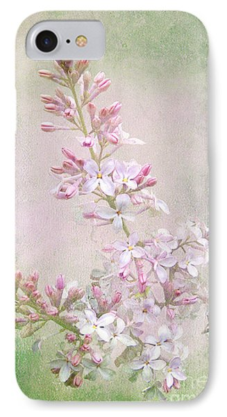 Vintage Lilac IPhone Case by Kathi Mirto