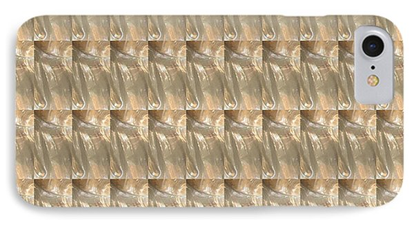 Vintage Look Gold N Brass Graphic Jewel Art Pattern IPhone Case by Navin Joshi
