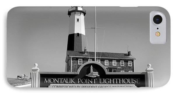 Vintage Looking Montauk Lighthouse IPhone Case