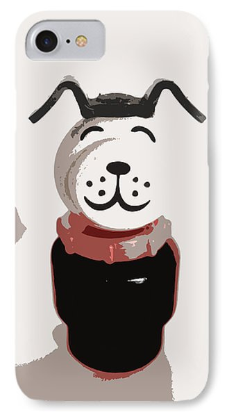 Vintage Lucky Dog IPhone Case