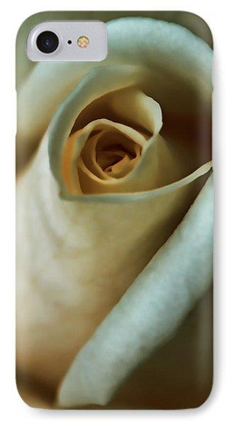 Vintage Macro Rose Flower Phone Case by Jennie Marie Schell