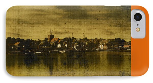 IPhone Case featuring the digital art Vintage Maldon  by Fine Art By Andrew David