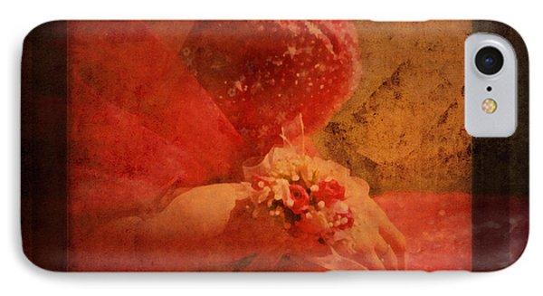 Vintage Memories Of First Love IPhone Case by Georgiana Romanovna