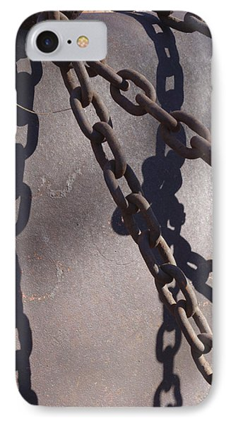 Vintage Metal Chains Phone Case by Ann Powell