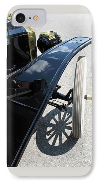 Vintage Model T IPhone Case by Ann Horn