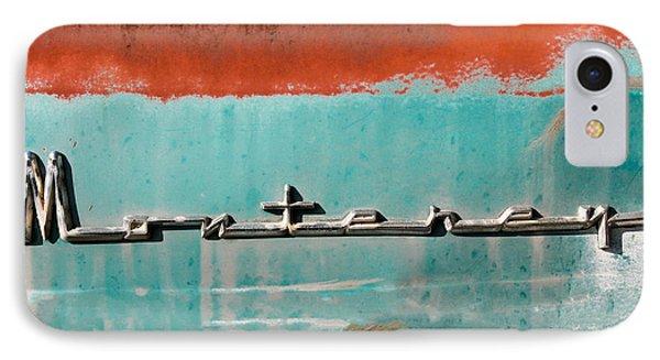 Vintage Monterey Emblem IPhone Case by Tony Grider