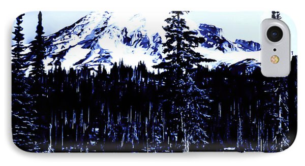 Vintage Mount Rainier Early 1900 Era... IPhone Case