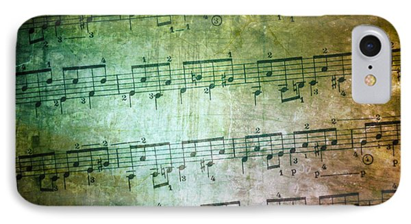 Vintage Music Sheet IPhone Case