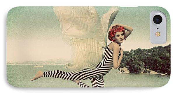 Vintage Ocean Fairy IPhone Case