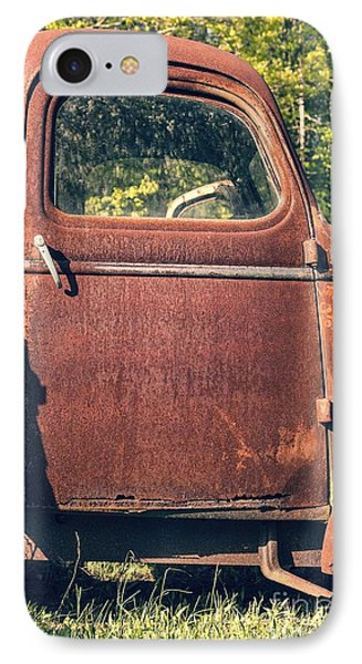 Vintage Old Rusty Truck Phone Case by Edward Fielding