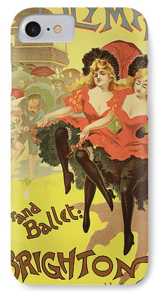 Vintage Poster   Brighton Phone Case by Pal