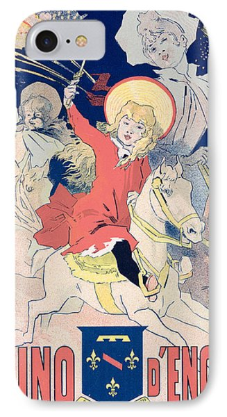 Vintage Poster  Casino Denghien IPhone Case by Jules Cheret