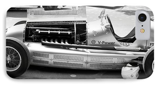 IPhone Case featuring the photograph Vintage Racing Car by Gianfranco Weiss