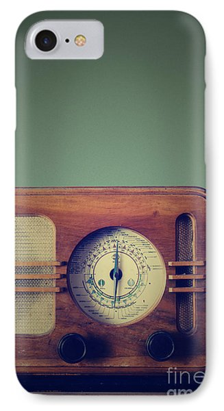 Vintage Radio IPhone Case by Jelena Jovanovic