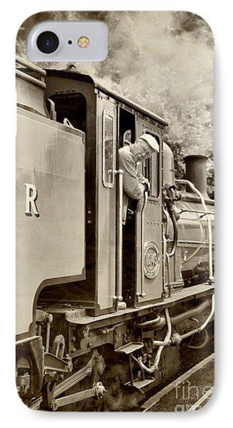 Vintage Railway Phone Case by Jane Rix