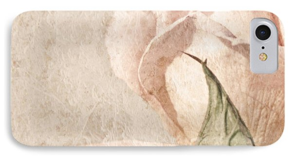 IPhone Case featuring the painting Vintage Rose by Brooke T Ryan