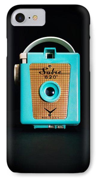 Vintage Sabre 620 Camera IPhone Case by Jon Woodhams
