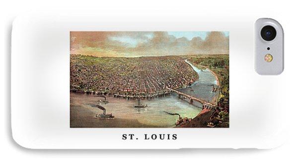 Vintage Saint Louis Missouri Phone Case by War Is Hell Store