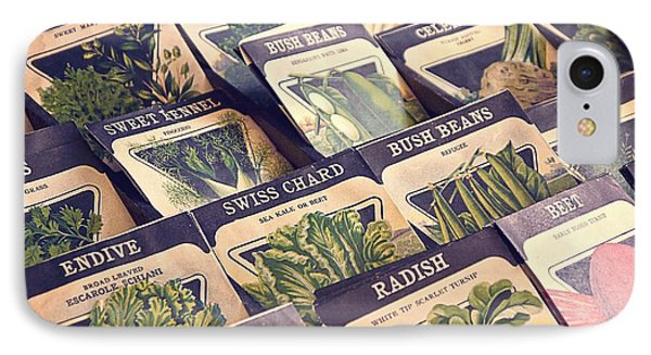 Vintage Seed Packages IPhone Case