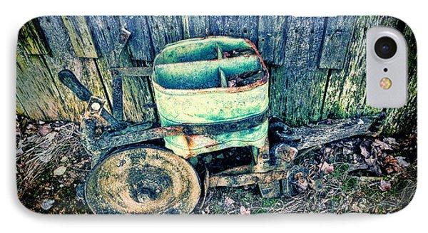 Vintage Seeder 4 - Color Hdr_blue IPhone Case by Lesa Fine