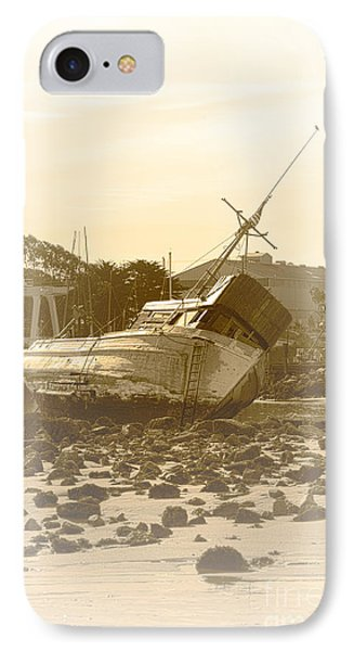Vintage Shipwreck  Phone Case by Artist and Photographer Laura Wrede