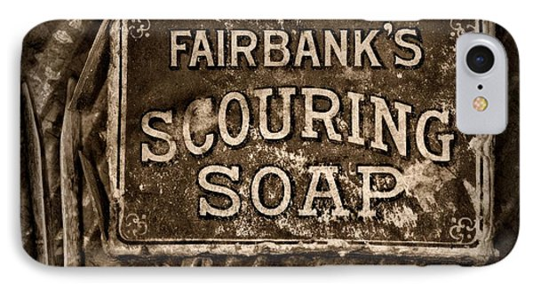 Vintage Soap In Sepia IPhone Case by Paul Ward