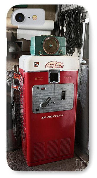 Vintage Soda Machine Phone Case by John Rizzuto