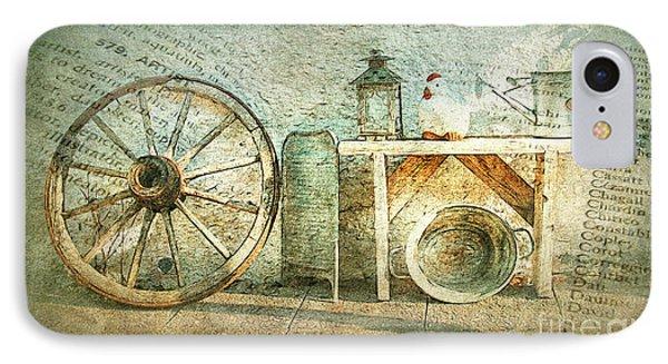 Vintage Still Life IPhone Case by Jutta Maria Pusl