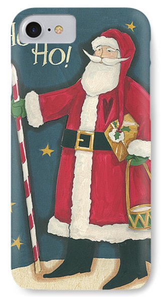 Vintage St.nick II IPhone Case by Anne Tavoletti