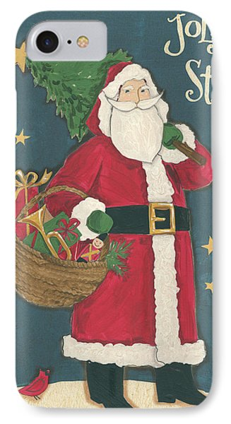Vintage St.nick IIi IPhone Case by Anne Tavoletti