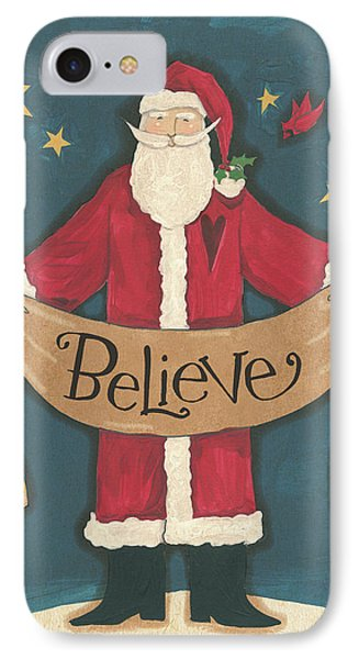 Vintage St.nick Iv IPhone Case by Anne Tavoletti
